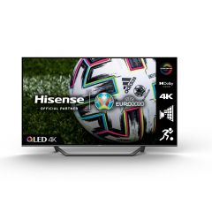 """Hisense 55A7GQTUK 55"""" QLED 4K UHD HDR SMART TV with HDR10+ Dolby Vision, Dolby Atmos® and Alexa"""