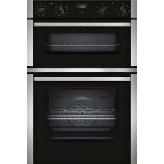 NEFF U1ACE2HN0B Electric CircoTherm Double Oven Oven - BLACK/STEEL